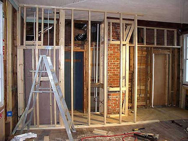 How to build a Stud Wall Partition - Building Contractors ...