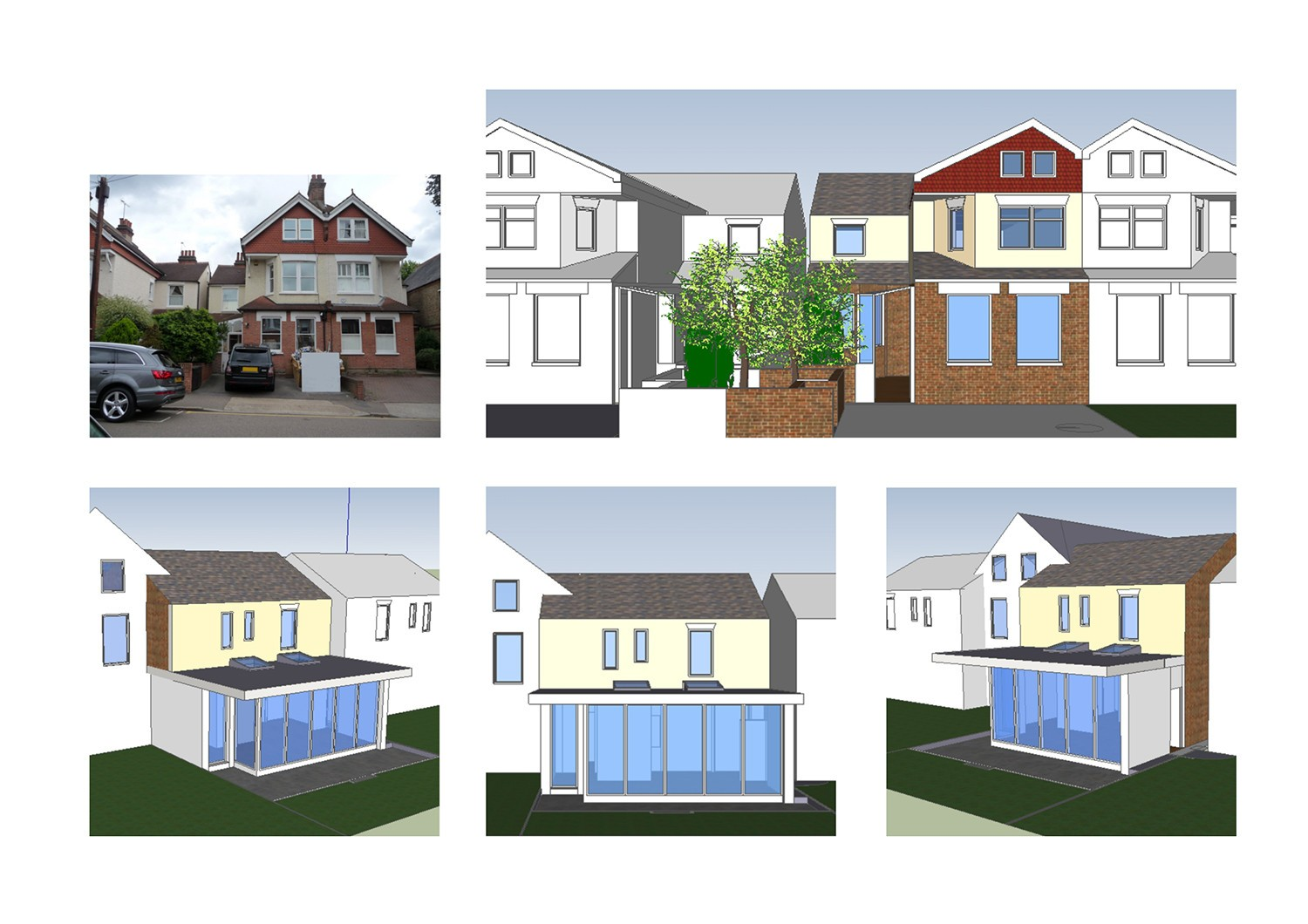 Design and build building contractors london for Contractors needed to build a house