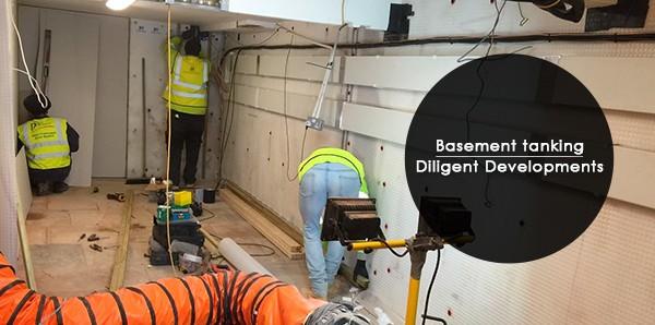 basement tanking damp proofing basement waterproofing