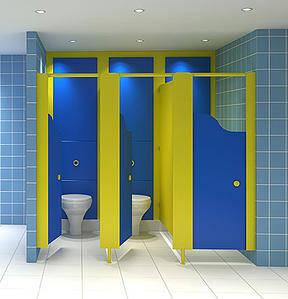 junior washroom cubicles