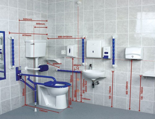 Mobility bathroom design