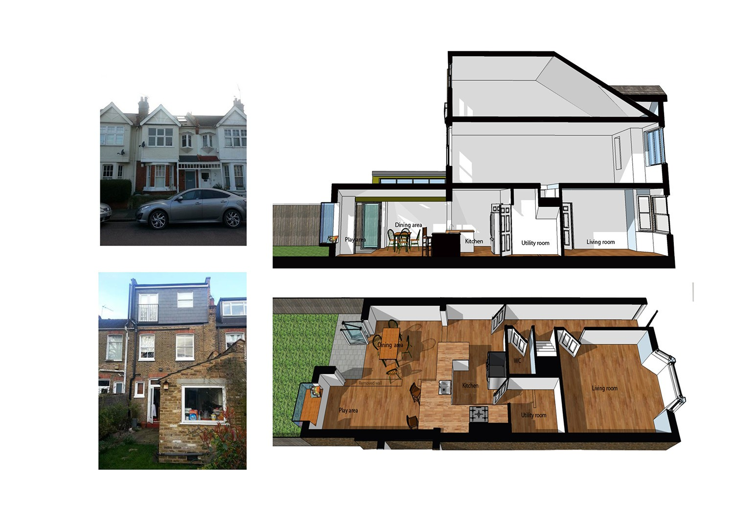 Design and build building contractors london for Residential remodeling
