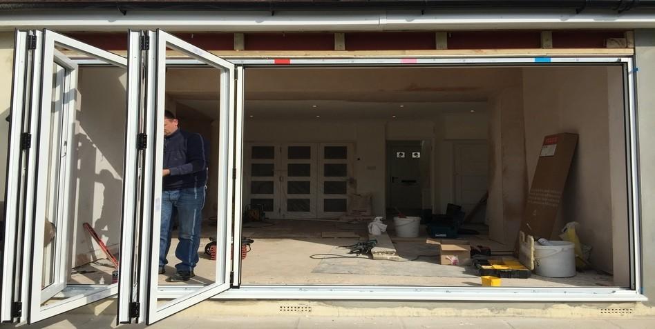 Bifold Door Installation : Best bi fold doors case study folding epsom