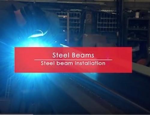 CRASH, BANG, WALLOP – Internal load bearing wall removal with RSJ Steel Beam installation