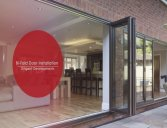 Steel beam installation with bifold doors case study