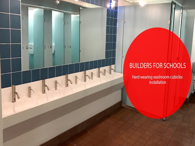 Washroom Cubicle Installation Video of Internal Hard Wearing Unisex Toilets
