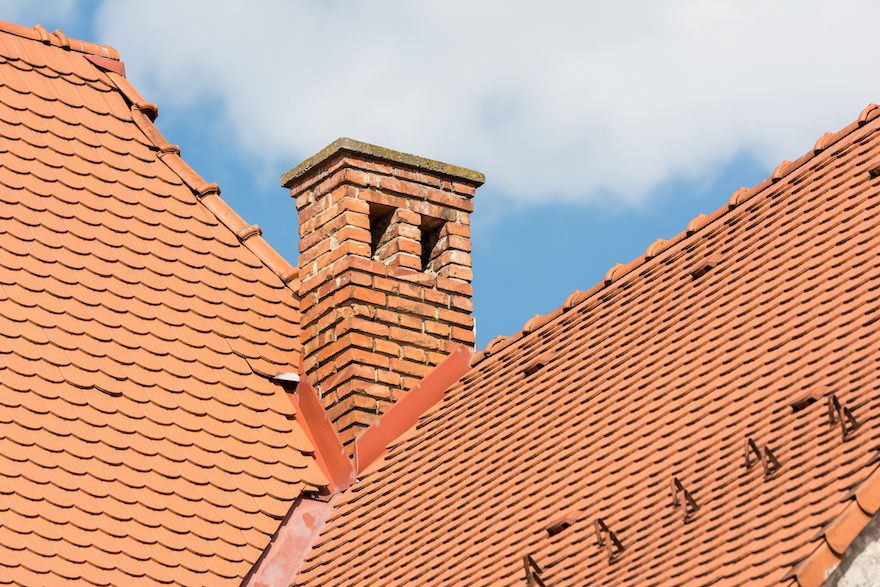 Removing chimney stack from roof. Chimney breast removal costs - Tel: 0845 052 3769
